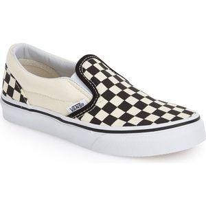 Vans Classic Checker Slip On Sneakers | 12